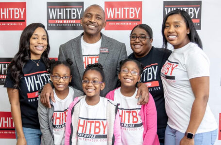 CLIFFARD WHITBY AND FAMILY (MACON-BIBB MAYORAL RACE)