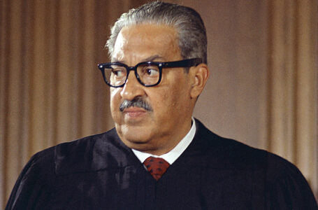 Thurgood Marshall: First African-American to serve on U.S. Supreme Court