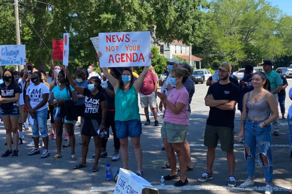 """Forsyth residents come together for """"Change The Narrative"""" rally"""